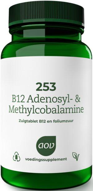 253 Adenosyl en Methylcobalamine 60 zuigtabletten AOV