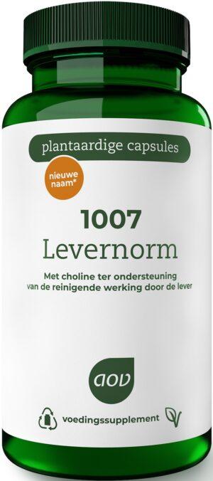 1007 Levernorm 60 capsules - AOV