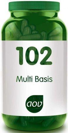 102 Multi Basis 120 plantaardige capsules AOV