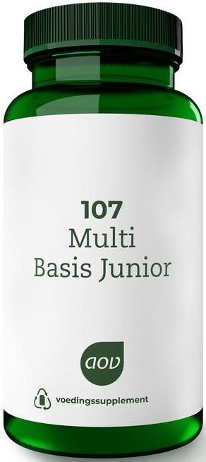 107 Multi Basis Junior 60 kauwtabletten - AOV