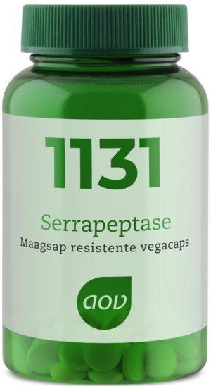 1131 Serrapeptase 5 mg 60 capsules - AOV