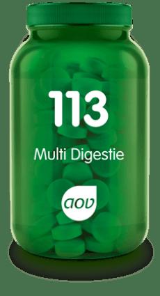 113 Multi Digestie 60 tabletten AOV