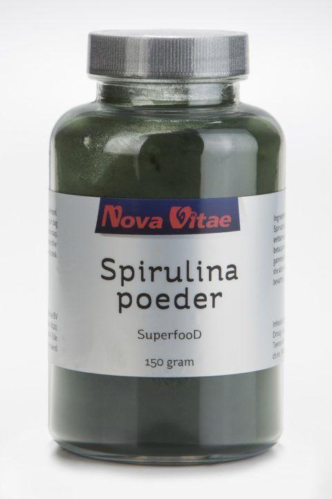 Spirulina Poeder Puur 150 gram Nova Vitae