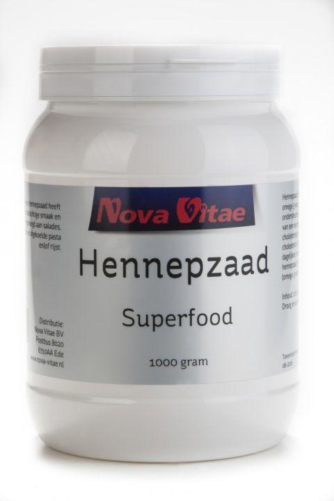 Hennepzaad Superfood 1000 gram Nova Vitae