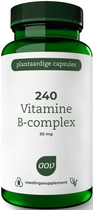 240 Vitamine B Complex 50 mg 60 capsules - AOV