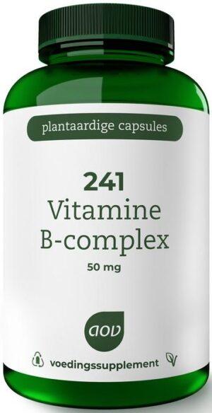 241 Vitamine B Complex 50 mg 180 capsules - AOV