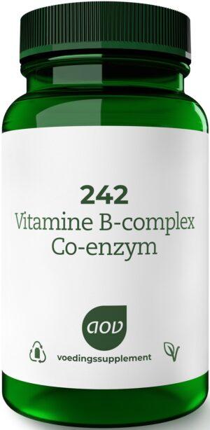 242 Vitamine B-Complex Co-Enzym 60 tabletten AOV