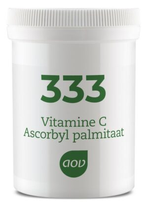 333 Vitamine C Ascorbyl Palmitaat 60 gram - AOV