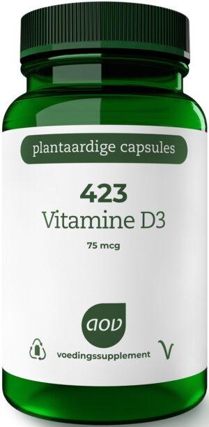 423 Vitamine D3 75 mcg 90 capsules AOV