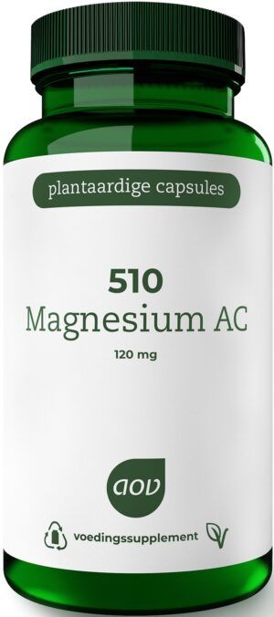 510 Magnesium AC 120 mg 60 capsules - AOV