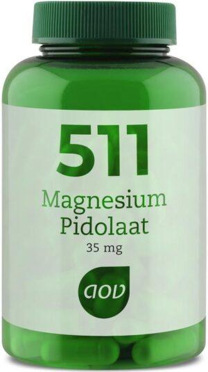 511 Magnesium Pidolaat 90 capsules - AOV
