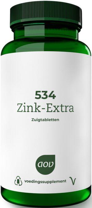 534 Zink Extra 90 zuigtabletten - AOV