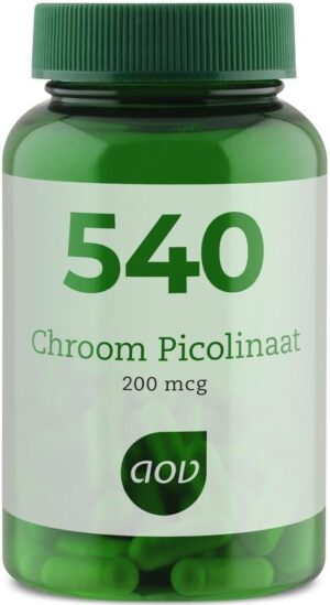 540 Chroom Picolinaat 60 capsules - AOV