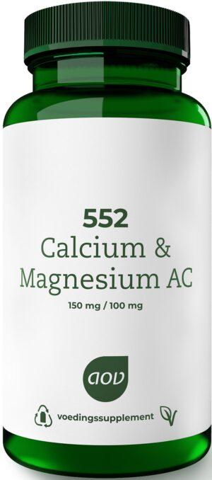 552 Calcium en Magnesium AC 60 tabletten AOV