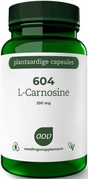604 L-Carnosine 250 mg 60 capsules - AOV