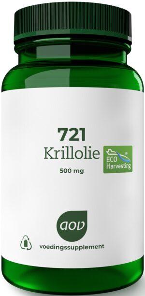 721 Krill Olie 500 mg 60 capsules - AOV