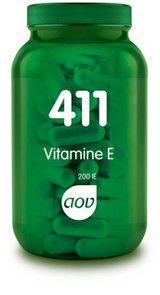 411 Vitamine E 200 IE 100 capsules AOV