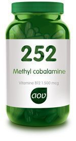 252 Methylcobalamine Vitamine B12 1500 mcg 60 capsules AOV