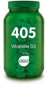405 Vitamine D3 15 mcg 180 tabletten AOV