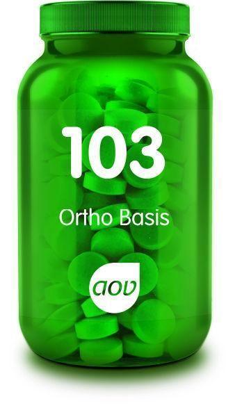103 Ortho Basis 90 tabletten AOV