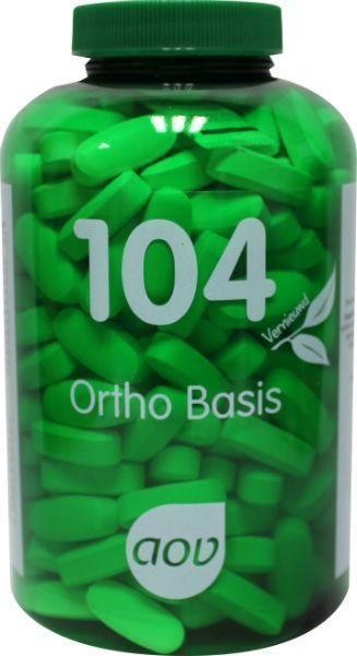 104 Ortho Basis 270 tabletten AOV