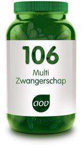 106 Multi Zwangerschap 60 capsules AOV