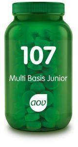 107 Multi Basis Junior 60 kauwtabletten AOV