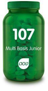 107 Multi Basis Junior 60 kauwtabletten AOV