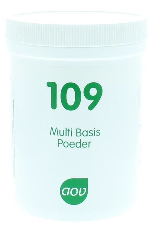 109 Multi Basis Poeder 250 gram AOV