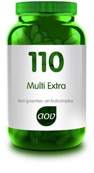 110 Multi Extra 90 capsules AOV