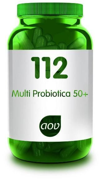 112 Multi Probiotica 50 Plus 60 capsules AOV