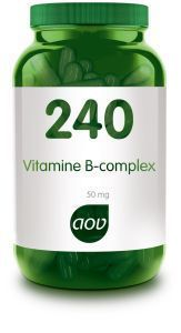 240 Vitamine B Complex 50 mg 60 capsules AOV