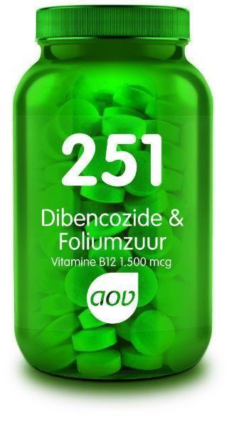 251 Dibencozide en Foliumzuur 60 zuigtabletten AOV