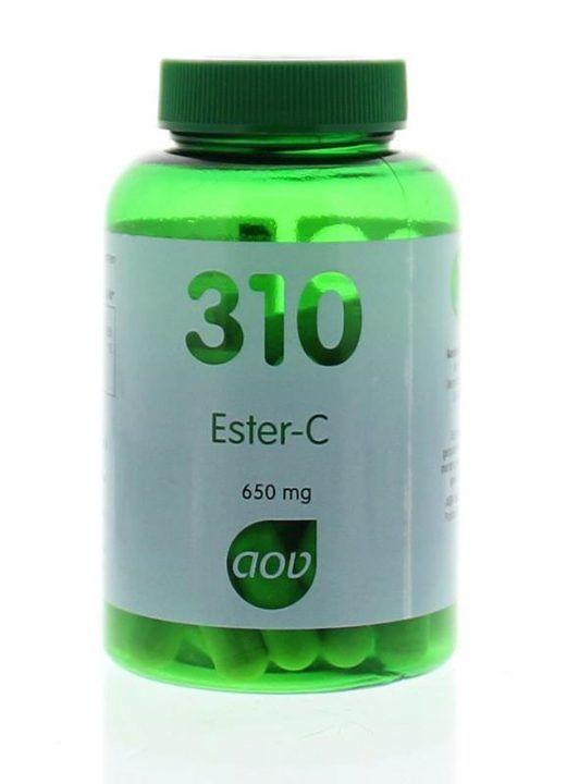 310 Ester C 650 mg 60 capsules AOV