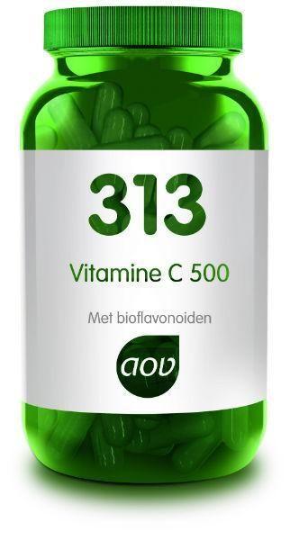 313 Vitamine C 500 mg 100 capsules AOV