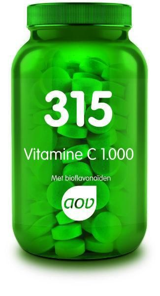 315 Vitamine C 1000 mg en Bioflavonoiden 60 tabletten AOV