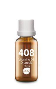 408 Vitamine D3 Druppels 10 mcg 25 ml AOV