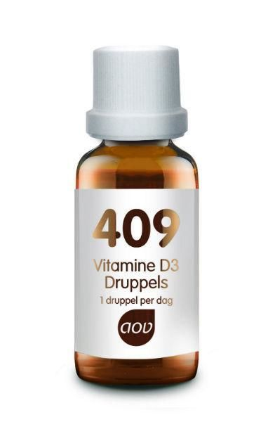 409 Vitamine D3 25 mcg 15 ml AOV
