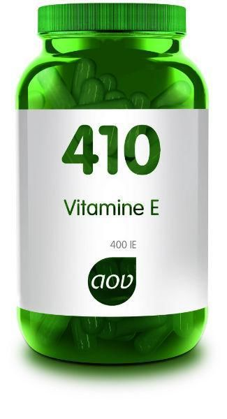410 Vitamine E 400 IE 60 capsules AOV