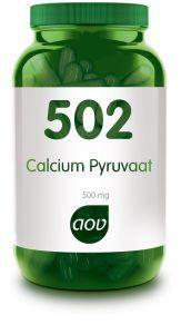502 Calcium Pyruvaat 500 mg 60 capsules AOV
