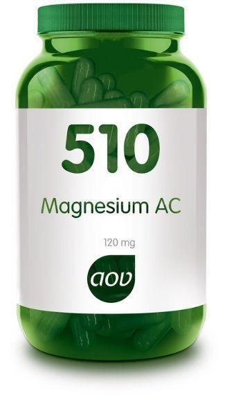 510 Magnesium AC 120 mg 60 capsules AOV