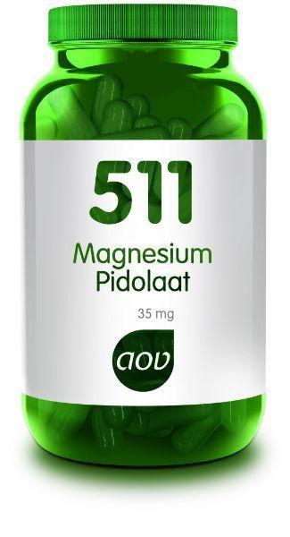 511 Magnesium Pidolaat 90 capsules AOV
