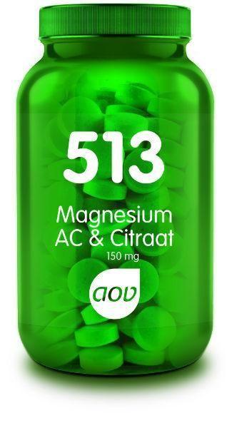 513 Magnesium AC en Citraat 180 tabletten AOV