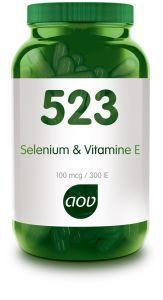523 Selenium en Vitamine E 60 capsules AOV