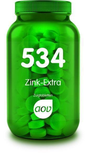 534 Zink Extra 90 zuigtabletten AOV