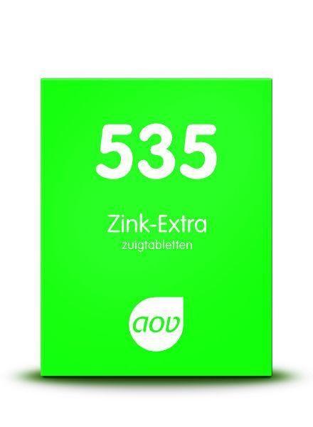 535 Zink Extra 30 zuigtabletten AOV