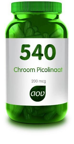 540 Chroom Picolinaat 60 capsules AOV