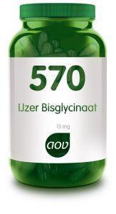 570 IJzer Bisglycinaat 15 mg 90 capsules AOV