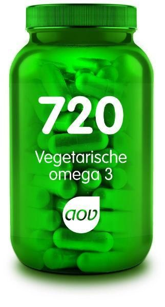720 Omega 3 Vegan 550 mg 60 capsules AOV