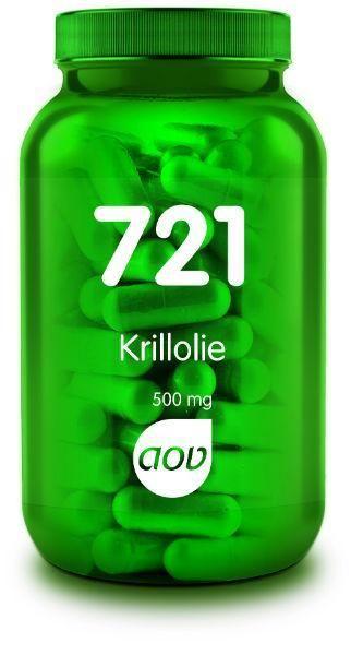 721 Krill Olie 500 mg 60 capsules AOV